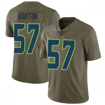 Men's Cody Barton Seattle Seahawks Limited Green 2017 Salute to Service Jersey