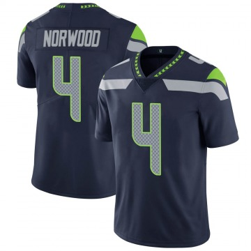 Youth Josh Norwood Seattle Seahawks Limited Navy Team Color Vapor Untouchable Jersey