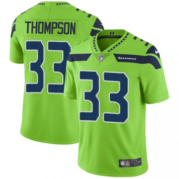 Youth Tedric Thompson Seattle Seahawks Limited Green Color Rush Jersey